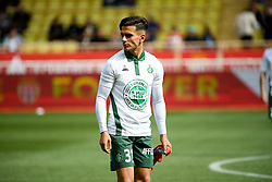 May 5, 2019 - Monaco, France - ECHAUFFEMENT - HOMMAGE AUX VICTIMES DE LA CATASTROPHE DE FURIANI - 33 BILAL BENKHEDIM  (Credit Image: © Panoramic via ZUMA Press)