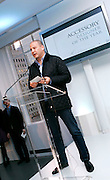 Designer Reed Krakoff speaks at the 2008 CFDA Fashion Awards Nominee Announcement in the Rooftop Gardens at Rockefeller Center  in New York City, USA on March 10, 2008.