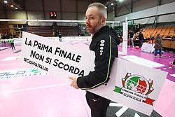ENRICO BARBOLINI (ALLENATORE SASSUOLO)<br /> CANOVI COPERTURE SASSUOLO - ITAS CITTA' FIERA MARTIGNACCO<br /> PALLAVOLO SEMIFINALE COPPA ITALIA VOLLEY A2-F 2018-2019<br /> SASSUOLO (MO) 23-01-2019<br /> FOTO FILIPPO RUBIN / LVF