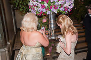 CARMEL GREENWOOD; GIOVANNA CORRETT, Triennial Summer Ball, Royal Academy. Piccadilly. London. 20 June 2011. <br /> <br />  , -DO NOT ARCHIVE-© Copyright Photograph by Dafydd Jones. 248 Clapham Rd. London SW9 0PZ. Tel 0207 820 0771. www.dafjones.com.