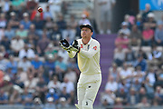 Jos Buttler of England during day two of the fourth SpecSavers International Test Match 2018 match between England and India at the Ageas Bowl, Southampton, United Kingdom on 31 August 2018.