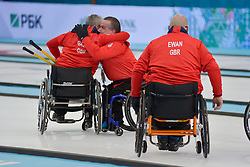 Jim Gault, Bob McPherson, Gregor Ewan, Wheelchair Curling Finals at the 2014 Sochi Winter Paralympic Games, Russia