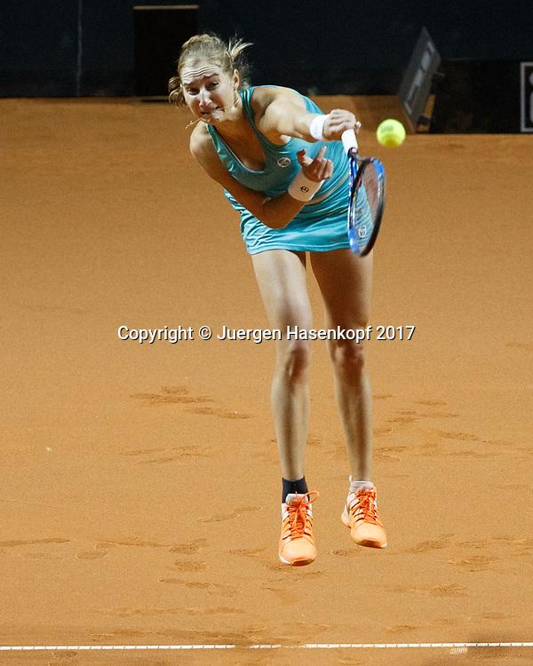 EKATERINA MAKAROVA (RUS)<br /> <br /> Tennis - Porsche  Tennis Grand Prix 2017 -  WTA -  Porsche-Arena - Stuttgart -  - Germany  - 27 April 2017.