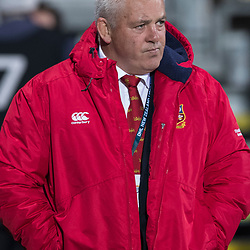 Warren Gatland pensive before game during game 3 of the British and Irish Lions 2017 Tour of New Zealand,The match between  Crusaders and British and Irish Lions, AMI Stadium, Christchurch, Saturday 10th June 2017<br /> (Photo by Kevin Booth Steve Haag Sports)<br /> <br /> Images for social media must have consent from Steve Haag