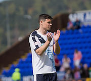 Dundee's Darren O'Dea applauds the travelling support  - Inverness Caledonian Thistle  v Dundee, Ladbrokes Scottish Premiership at Caledonian Stadium <br /> <br />  - © David Young - www.davidyoungphoto.co.uk - email: davidyoungphoto@gmail.com