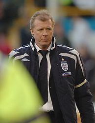 England Manager STEVE McCLAREN, England B-Albania, International Friendly,  Turf Moor Ground Burnley, 25/5/2005 Score 3-1