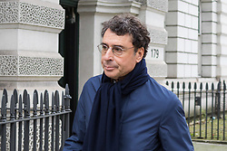 Alexandre Djouhri who is wanted by the French authorities on suspicion of fraud and money laundering, with French judges investigating claims by the Gaddafi family that it bankrolled the presidential election campaign of Nicolas Sarkozy. He is was attending and extradition hearing at Westminster Magistrate's Court, London, February 22 2018.