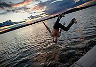 Bantam Lake, Morris, Connecticut. (Photo by Robert Falcetti)