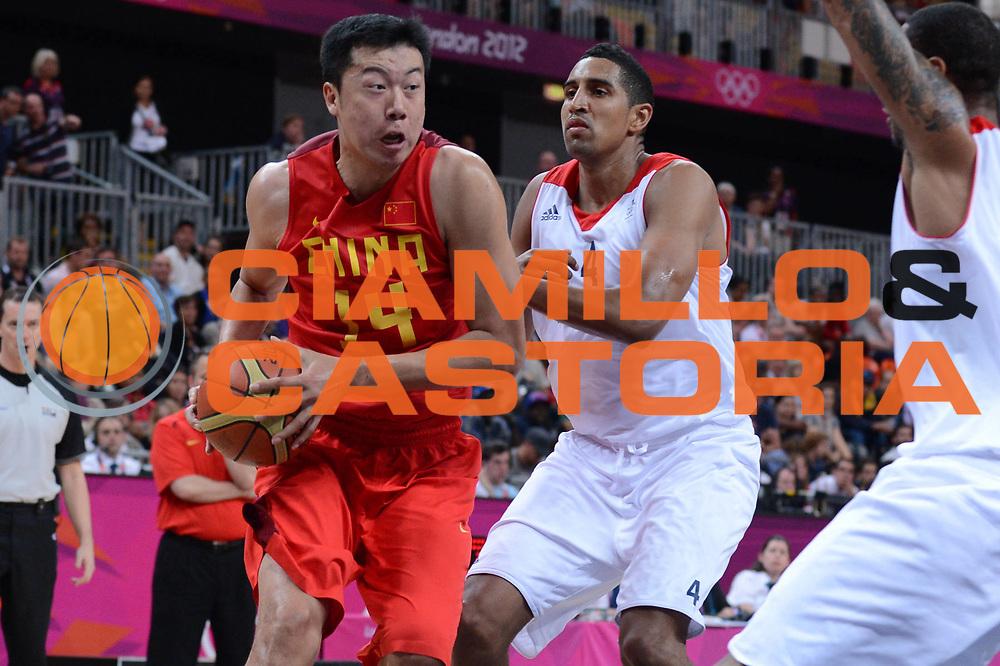 DESCRIZIONE : London Londra Olympic Games Olimpiadi 2012 Men Preliminary Round Great Britain China Gran Bretagna Cina<br /> GIOCATORE : Zhizhi WANG<br /> CATEGORIA : <br /> SQUADRA : China Cina<br /> EVENTO : Olympic Games Olimpiadi 2012<br /> GARA : Great Britain Australia Gran Bretagna Australia<br /> DATA : 06/08/2012<br /> SPORT : Pallacanestro <br /> AUTORE : Agenzia Ciamillo-Castoria/M.Marchi<br /> Galleria : London Londra Olympic Games Olimpiadi 2012 <br /> Fotonotizia : London Londra Olympic Games Olimpiadi 2012 Men Preliminary Round<br /> Great Britain Australia Gran Bretagna Australia<br /> Predefinita :