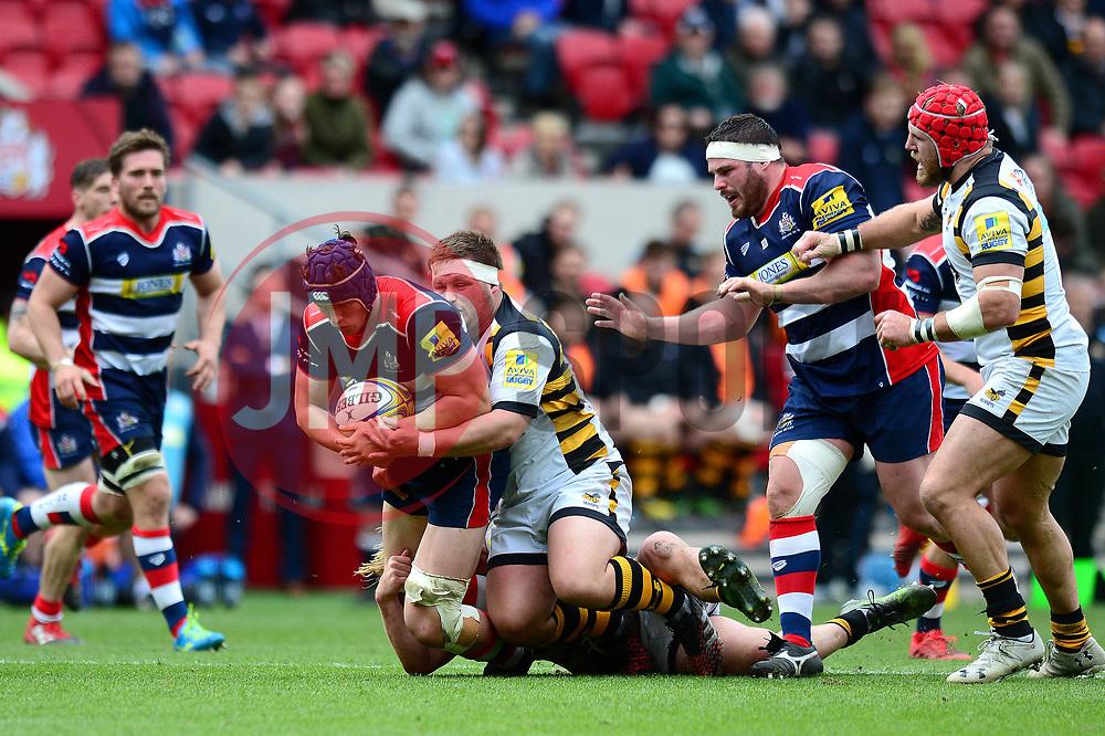 Sam Jeffries of Bristol Rugby - Mandatory by-line: Dougie Allward/JMP - 16/04/2017 - RUGBY - Ashton Gate - Bristol, England - Bristol Rugby v Wasps - Aviva Premiership
