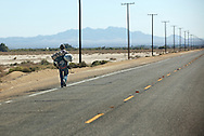 Route 66  near Newberry Springs, California. .A trip through parts of Route 66 from Southern California to Arizona.