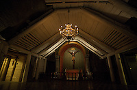 Wieliczka Salt Mine, Poland. The Holy Cross Chapel