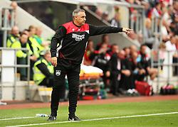 Bristol City Assistant Manager John Pemberton points - Mandatory by-line: Matt McNulty/JMP - 10/09/2016 - FOOTBALL - Aesseal New York Stadium - Rotherham, England - Rotherham United v Bristol City - Sky Bet Championship