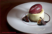 Boston, MA 121509  Cheesecake and figs desert dish at Market at the W Hotel photographed on December 15, 2009. (Essdras M Suarez/ Boston Globe)/ G