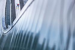 01.01.2018, Olympiaschanze, Garmisch Partenkirchen, GER, FIS Weltcup Ski Sprung, Vierschanzentournee, Garmisch Partenkirchen, Probesprung, im Bild Richard Freitag (GER) // Richard Freitag of Germany during his Trial Jump for the Four Hills Tournament of FIS Ski Jumping World Cup at the Olympiaschanze in Garmisch Partenkirchen, Germany on 2018/01/01. EXPA Pictures © 2018, PhotoCredit: EXPA/ JFK