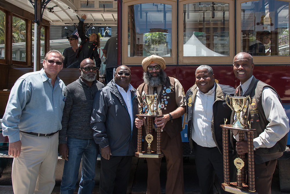 54th Annual Cable Car Bell Ringing Contest   July 13, 2017