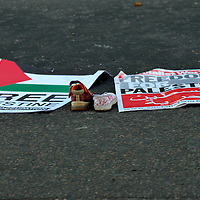 London anti Israel protest