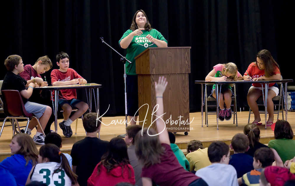 "Woodland Heights Elementary School ""Words of Wisdom"" trivia contest  June 16, 2010."