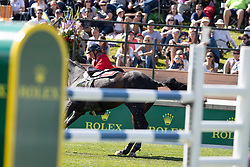 Jufer Alain, SUI, Chellatus R<br /> Spruce Meadows Masters - Calgary<br /> © Hippo Foto - Dirk Caremans<br /> 08/09/2018