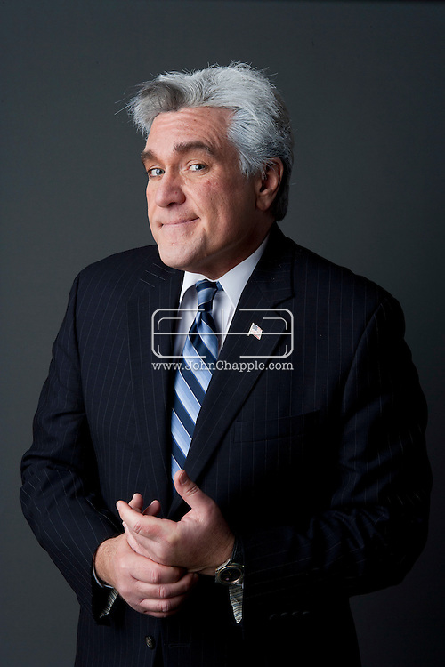 24th February 2011. Las Vegas, Nevada.  Celebrity Impersonators from around the globe were in Las Vegas for the 20th Annual Reel Awards Show. Pictured is Marcel Forestieri as Jay Leno. Photo © John Chapple / www.johnchapple.com..