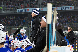 03.01.2015, Klagenfurter Wörthersee Stadion, Klagenfurt, AUT, EBEL, EC KAC vs EC VSV, 35. Runde, in picture Hannu Järvenpää (VSV Trainer) during the Erste Bank Icehockey League 35. Round between EC KAC and EC VSV at the Klagenfurter Wörthersee Stadion, Klagenfurt, Austria on 2015/01/03. Photo by Matic Klansek Velej / Sportida