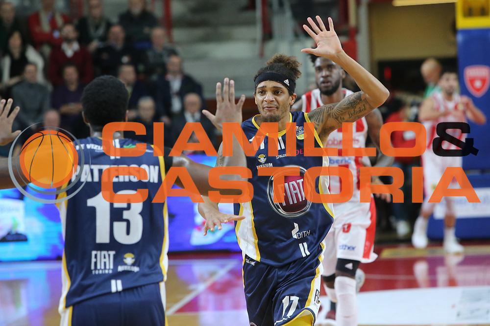 Washington Deron<br /> Openjobmetis Varese - Fiat Torino<br /> Lega Basket Serie A 2017/2018<br /> Varese, 14/01/2018<br /> Foto Ciamillo - Castoria