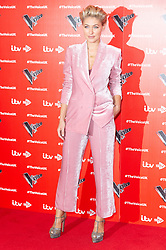 © Licensed to London News Pictures. 03/01/2019. London, UK. EMMA WILLIS attends the The Voice UK 2019 ITV press launch. Photo credit: Ray Tang/LNP