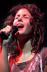 Katie Melua at Sheffield Hallam FM Arena.25 January 2006.Copyright Paul David Drabble/Aileen Deeprose