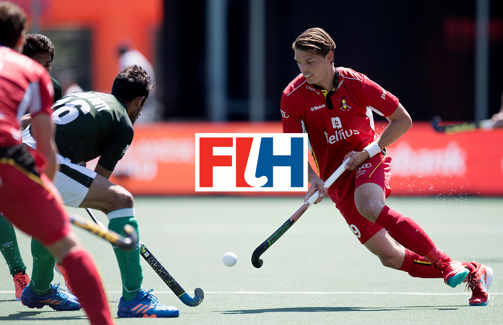 BREDA - Rabobank Hockey Champions Trophy<br /> 5th/6th place Belgium - Pakistan<br /> Photo: Felix Denayer.<br /> COPYRIGHT WORLDSPORTPICS FRANK UIJLENBROEK