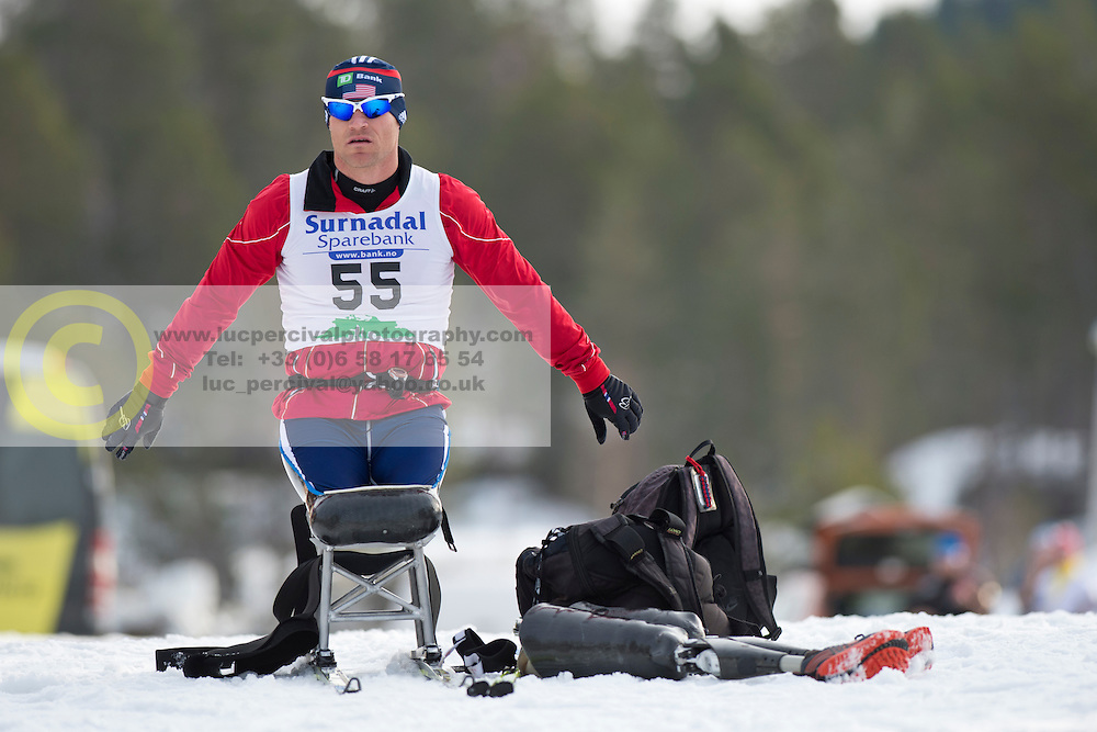 CNOSSEN Daniel, USA, Long Distance Cross Country, 2015 IPC Nordic and Biathlon World Cup Finals, Surnadal, Norway