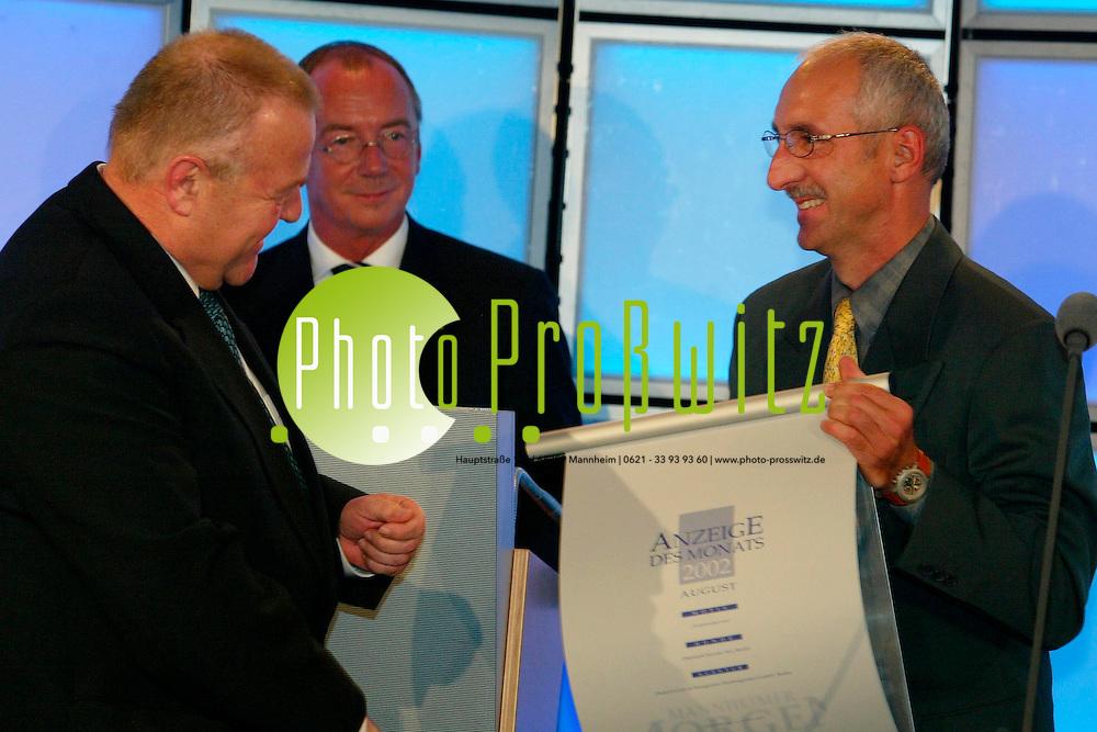 Mannheim. MM Verleihung Anzeige des Jahres mit Einweihung der Redaktionsr&auml;ume<br /> <br /> Bild: Markus Pro&szlig;witz