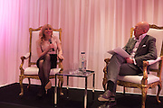 COURTNEY LOVE; DYLAN JONES, Liberatum host A special 'In Conversation' event Courtney Love with Dylan Jones, As part of the Liberatum 'Women in Creativity' series<br /> St. Martins Lane hotel, London. 21st March 2016