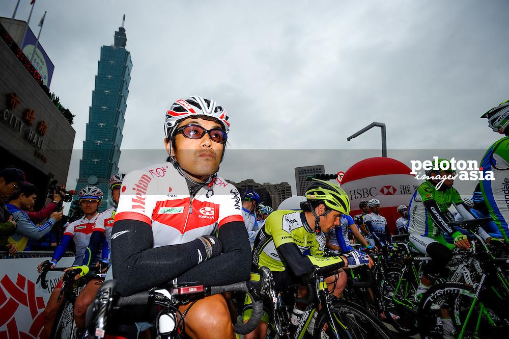 2014 Tour de Taiwan / stage1 / Taiwan / Takashi Miyazawa (JPN) / Japan National team / VIni Fantini NIPPO / Taipei101