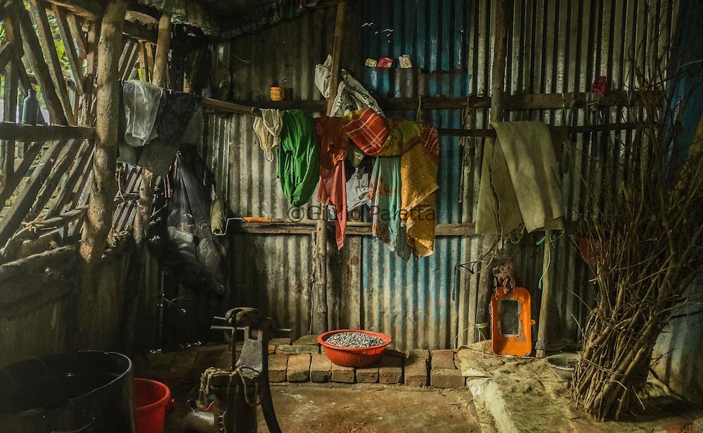 Mayesha's house, outside Cox's Bazar, Bangladesh