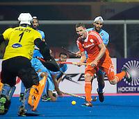 BHUBANESWAR  (INDIA) -  Netherlands vs India on day 3 of the Hero Champions Trophy Hockey.   Mirco Pruijser of the Netherlands\