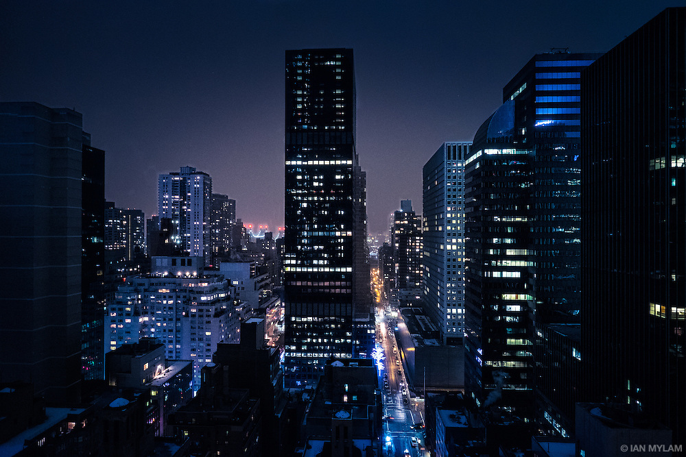 Night in New York City