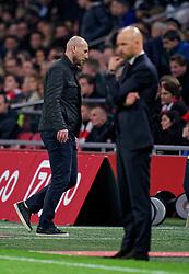 27-10-2019 NED: Ajax - Feyenoord, Amsterdam<br /> Eredivisie Round 11, Ajax win 4-0 / Coach Jaap Stam of Feyenoord, Coach Erik Ten Hag of Ajax