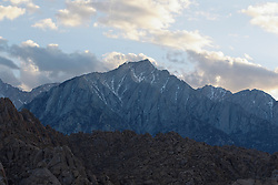 Mount Whitney viewed from the Alabama Hills, Lone Pine, California, United States of America