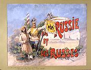 Russia: The State and the People united. Watercolour, 1884.