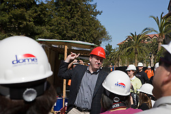 March 26, 2010; Stanford, CA, USA; Stanford Law School topping off ceremony for the new faculty building - Neukom Hall.