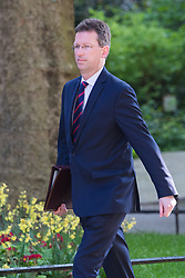 Downing Street, London, May 17th 2016. Attorney General Jeremy Wright arrives at the weekly cabinet meeting in Downing Street.