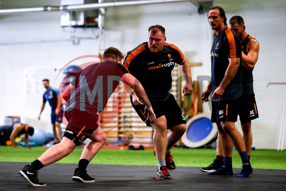 Conor Carey of Worcester Warriors during preseason training ahead of the 2019/20 Gallagher Premiership Rugby season - Mandatory by-line: Robbie Stephenson/JMP - 06/08/2019 - RUGBY - Sixways Stadium - Worcester, England - Worcester Warriors Preseason Training 2019