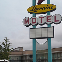 RAY VAN DUSEN/BUY AT PHOTOS.MONROECOUNTYJOURNAL.COM<br /> Memphis' Lorraine Motel was the place where civil rights champion Martin Luther King Jr. was assissinated in 1968.