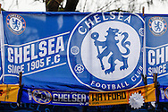 Chelsea merchandise before the FA Cup match between Chelsea and Watford at Stamford Bridge, London<br /> Picture by David Horn/Focus Images Ltd +44 7545 970036<br /> 04/01/2015