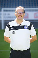 Gent's Luc Van den Bossche pictured during the 2015-2016 season photo shoot of Belgian first league soccer team KAA Gent, Saturday 11 July 2015 in Gent.