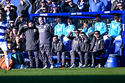 Marcelo Bielsa of Leeds United (Manager) during the EFL Sky Bet Championship match between Queens Park Rangers and Leeds United at the Kiyan Prince Foundation Stadium, London, England on 18 January 2020.