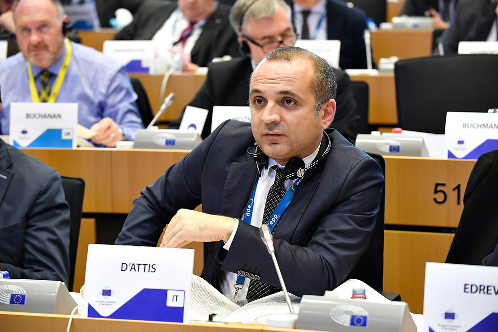 11 May 2017, 123rd Plenary Session of the European Committee of the Regions <br /> Belgium - Brussels - May 2017 <br /> D'ATTIS Mauro &copy; European Union / Fred Guerdin