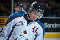 KELOWNA, CANADA - DECEMBER 7: Sam Reinhart #23 of the Kootenay Ice skates against the Kelowna Rockets on December 7, 2013 at Prospera Place in Kelowna, British Columbia, Canada.   (Photo by Marissa Baecker/Shoot the Breeze)  ***  Local Caption  ***