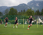 Dundee&rsquo;s James Vincent leads the way  - Day 4 of Dundee FC pre-season training camp in Obertraun, Austria<br /> <br />  - &copy; David Young - www.davidyoungphoto.co.uk - email: davidyoungphoto@gmail.com