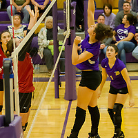 Berryville Varsity Volleyball vs. Green Forest (10-05-15)
